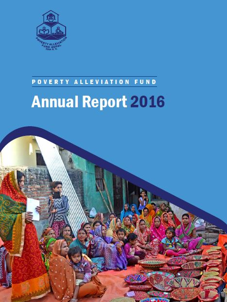 PAF Annual Report 2016 Nepali