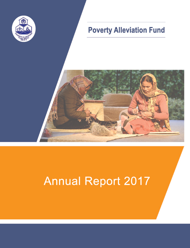 Poverty Alleviation Fund (PAF) Nepal, Annual Report 2017